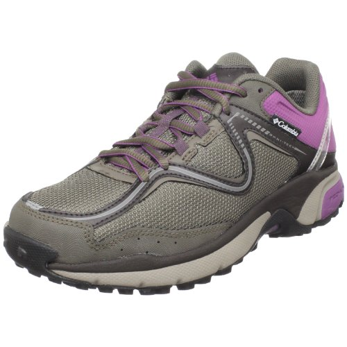 Columbia Women's Ravenous Omni-Tech Trail Running Shoe,Bungee Cord/Wood Violet,8.5 M US