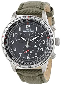"""Timex Men's T49823DH """"Expedition Military"""" Stainless Steel Watch with Nylon Band"""