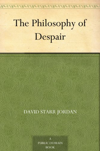 The Philosophy of Despair PDF