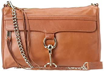 Rebecca Minkoff MAC Convertible Crossbody,Almond,One Size