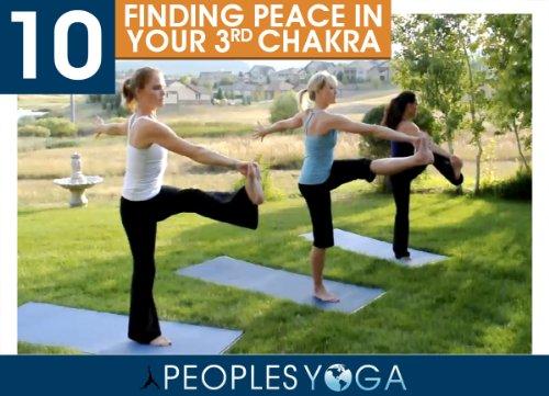 Peoples Yoga Presents; Finding Peace in your 3rd Charka - Intermediate Power Vinyasa Yoga