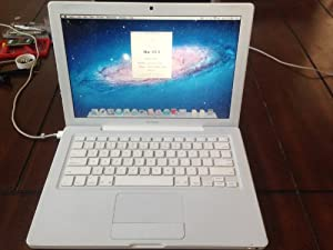 "Apple MacBook 13"" White, Intel Core 2 Duo 2.16GHz, 1GB, 160 Gb Hard Drive, Wi-fi, DVD-Burner, Camera, Mac Os 10.6 Snow Leopard and Ilife"
