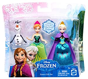Disney Frozen Sisters Magic Gift Set