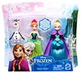 Disney Frozen Queen Elsa, Princess Anna and Olaf Gift Set + 24 Frozen Stickers