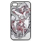 Zombie Disney Princesses Ariel iPhone 4/4S Case Hard Protective Back Case