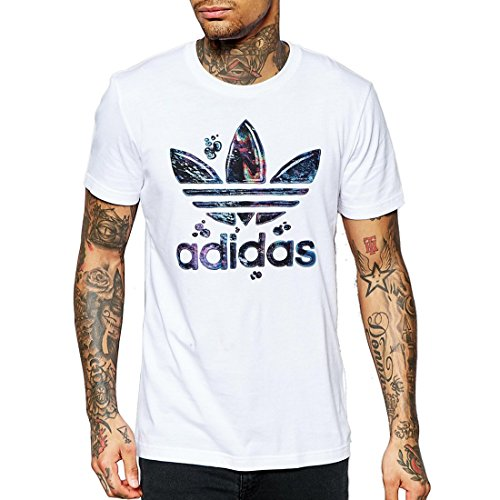 Adidas Running Fill T T-Shirt Uomo a Maniche Corte, Bianco, S