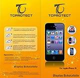 4x iphone 4/4s Schutzfolie matt (4 x Vorderseite)