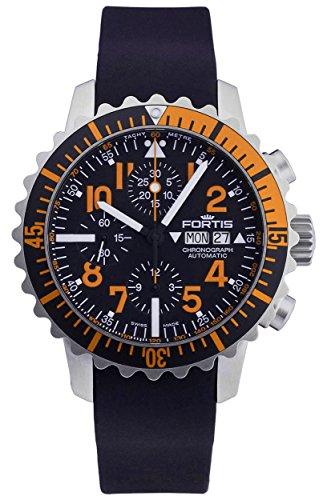 fortis-b-42-marinemaster-day-date-automatic-chronograph-steel-orange-mens-watch-6711949-k