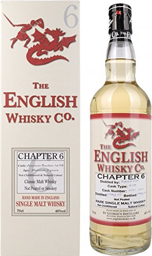 The English Whisky Co. - Chapter 6 Unpeated - 2008 3 year old Whisky