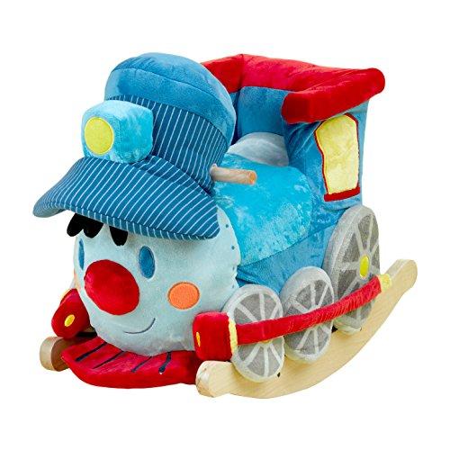 Rockabye Trax the Train Rocker, One Size - 1