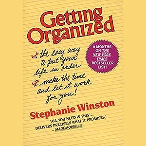Getting Organized Audiobook