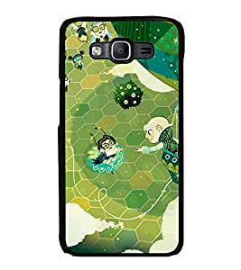 Fuson Premium 2D Back Case Cover Cartoon With Multi Background Degined For Samsung Galaxy On7::Samsung Galaxy On7 G6000FY