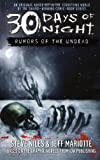 Rumors of the Undead (30 Days of Night, Book 1) (0743496515) by Niles, Steve