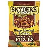スナイダーのハニーマスタードオニオンプレッツェル片125グラム (x 6) - Snyder's Honey Mustard Onion Pretzel Pieces 125g (Pack of 6) [並行輸入品]