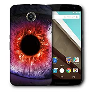 Snoogg The Eye Of The Storm Designer Protective Back Case Cover For Motorola Nexus 6