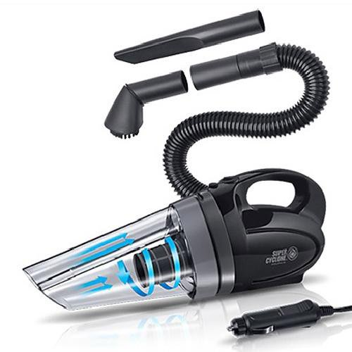 top 10 best car vacuum cleaners reviews 2017. Black Bedroom Furniture Sets. Home Design Ideas