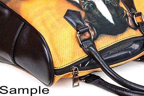 Custom Harry Potter Leather Canvas Handbag  Tote Bag  Purse for  Women Twin Sides. iHomeStore Custom Harry Potter Leather Canvas Handbag  Tote Bag