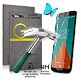 Yootech® Premium Motorola Google Nexus 6 Tempered Glass Screen Protector (2.5D 9H Hardness, Superslim 0.26mm) - The Best Nexus 6 Screen Protector To Guard Against Scratches and Drops - Ultra HD Clear With Maximum Touchscreen Accuracy.