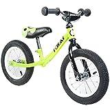 Tauki TM Balance Bike No-pedal Training Bikes for Toddlers, Green, 12 inch Prebike