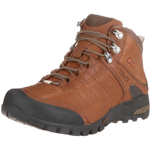 TEVA Riva Leather Mid eVent Men's Hiking Boot, Brown, UK9.5