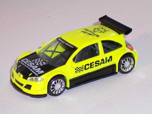 RENAULT MEGANE GELB RACING 3 INCHES
