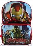 Marvel Avengers Backpack with Lunch Kit (Black)