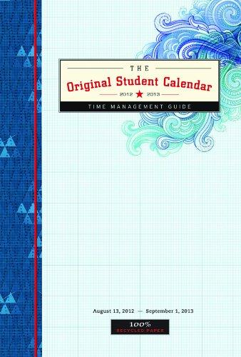 Original Student Calendar 2012-2013