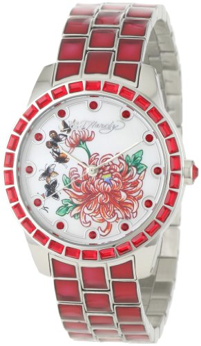 Ed Hardy Women's BE-RD Bella Red Watch