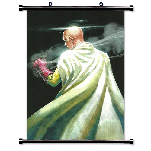 One Punch Man Anime Fabric Wall Scroll Poster (16 x 26) Inches