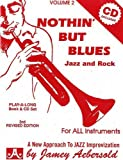 Vol. 2, Nothin But Blues: Jazz And Rock (Book & CD Set)