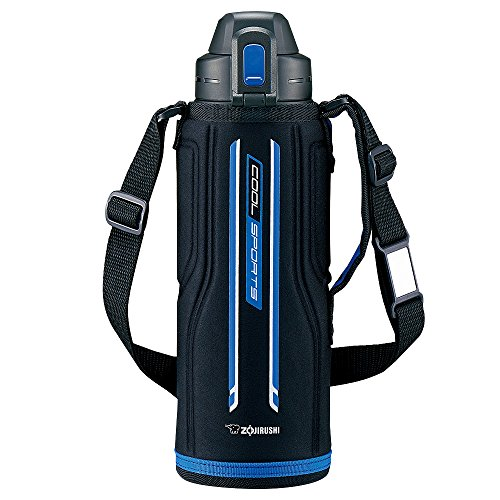 象印 水筒 直飲み スポーツタイプ ステンレスクールボトル 1.03L ブルーブラック