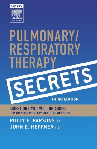 Pulmonary/Respiratory Therapy Secrets: With STUDENT CONSULT Online Access, 3e