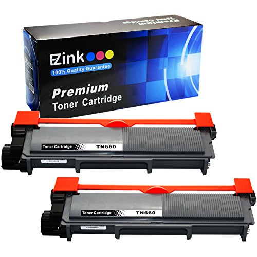 E-Z Ink (TM) Compatible Toner Cartridge Replacement for Brother TN630 TN660 High Yield (2 Black Toners) (Brother Mfc 2740dw Toner compare prices)