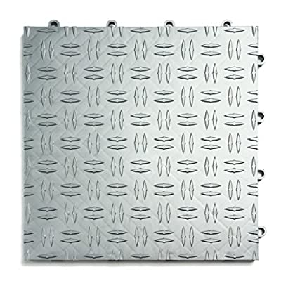 GarageTrac Garage Flooring Tiles-Pack of 24, Multiple Colors