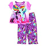 My Little Pony Toddler Pink Poly Pajamas