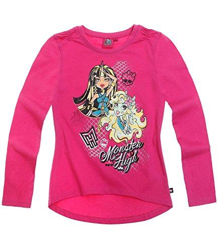 Monster High Ragazze Maglietta maniche lunghe - fucsia - 128