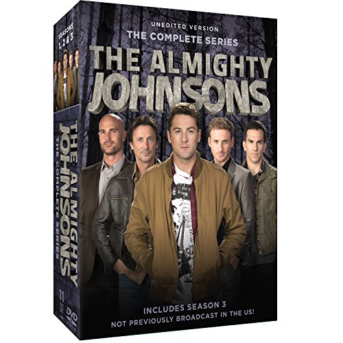 Almighty Johnsons: Seasons 1-3 (The Almighty Johnsons Season 3 compare prices)