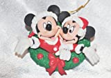 Mickey & Minnie Mouse Ornament Wreath