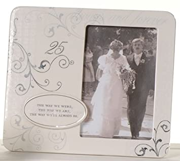 The Way We'll Be Photo Frame – 25th Wedding Anniversary Gift