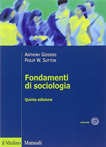 Fondamenti di sociologia PDF