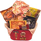 Gingerbread All Natural Gourmet Food Gift Basket - Medium