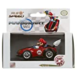 Mario Kart - Mario Figure on the Wild Wing Pull Back Action 4