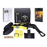 GHB Suspension Trainer Suspension Training Straps with Door Anchor