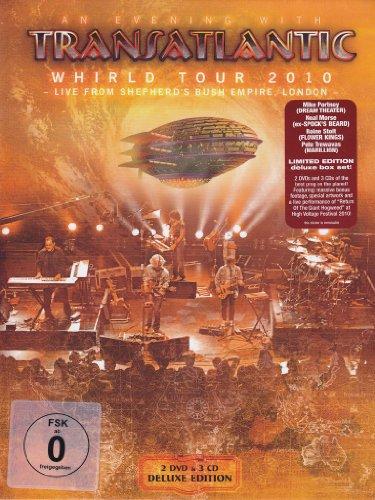 Transatlantic - Whirld Tour 2010 (Limited) (2 Dvd+3 Cd)