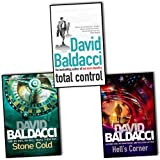 David Baldacci David Baldacci Camel Club 3 Books Collection Pack Set RRP: £22.97 (Stone Cold, Hell's Corner, Total Control)