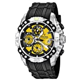 Festina Men's Bike 2011 Chronograph Watch F16543/6 with Rubber Strap and Yellow Dial