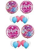 Abby Cadabby Happy Birthday Balloon Decoration