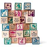 Uncle Goose Nursery Rhyme Blocks - Made in USA