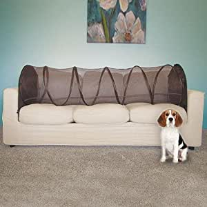 couch defender keep pets off of your furniture dark brown couch defender. Black Bedroom Furniture Sets. Home Design Ideas