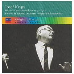 輸入盤CD ヨーゼフ・クリップス指揮 Decca Recordings, 1950-1958のAmazonの商品頁を開く